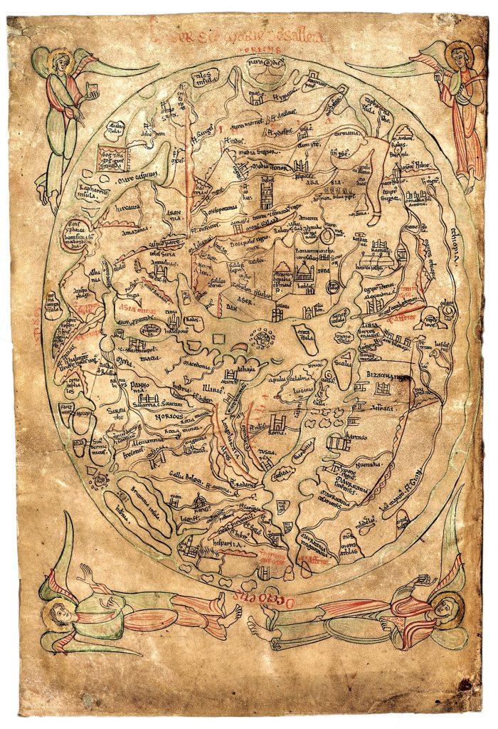 mapa mundi antiguo mapa del mundo